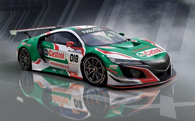 Blancpain | Il ritorno della NSX GT3 con la livrea storica Castrol Honda Racing