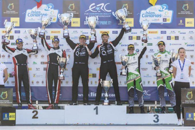 FIA ERC | Imprendibili Lukyanuk e Arnautov alle Canarie