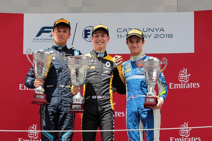 F2   Doppietta inglese nel round di Barcellona: vittorie per Russell ed Aitken