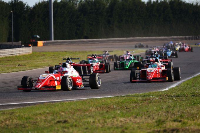 F4 Italia | Ben 30 vetture nella seconda tappa del Paul Ricard