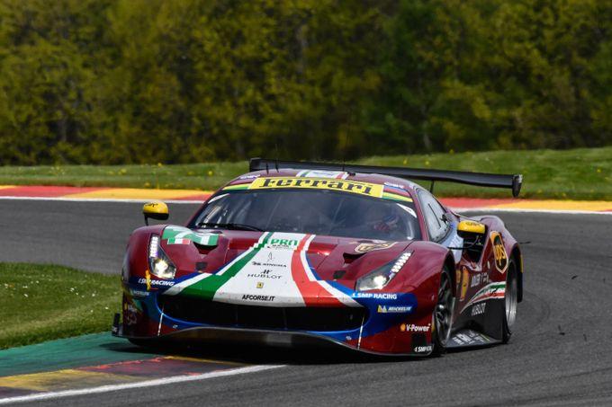 FIA WEC | L'arduo weekend della Ferrari alla 6 Ore di Spa-Francorchamps