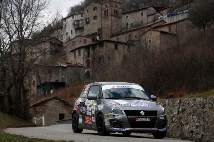 Suzuki Rally Trophy   Terzo appuntamento del monomarca al Targa Florio