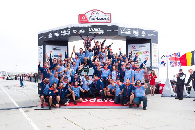 WRC | Il successo di Hyundai in Portogallo con la vittoria di Thierry Neuville
