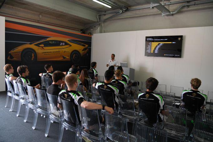 Lamborghini, svelati i nomi dei giovani partecipanti ai programmi 2018