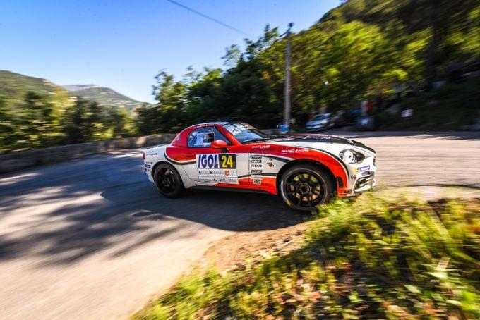 Abarth | Ancora buoni risultati in Francia e Repubblica Ceca per la 124 Rally