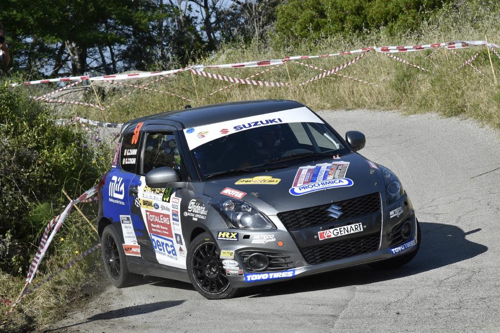 Suzuki Rally Trophy | Cogni cala il tris al Rallye Elba e si conferma in vetta