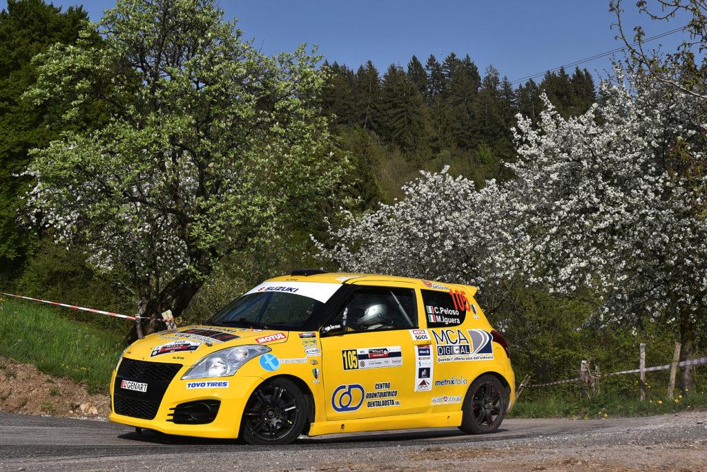 Suzuki Rally Cup | Solida vittoria di Peloso e Iguera al Rally 1000 Miglia