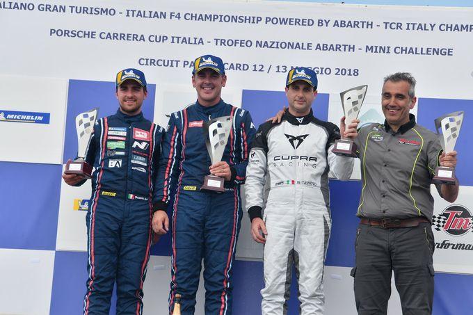TCR Italy | Riscatto BRC Racing nel secondo round in Francia