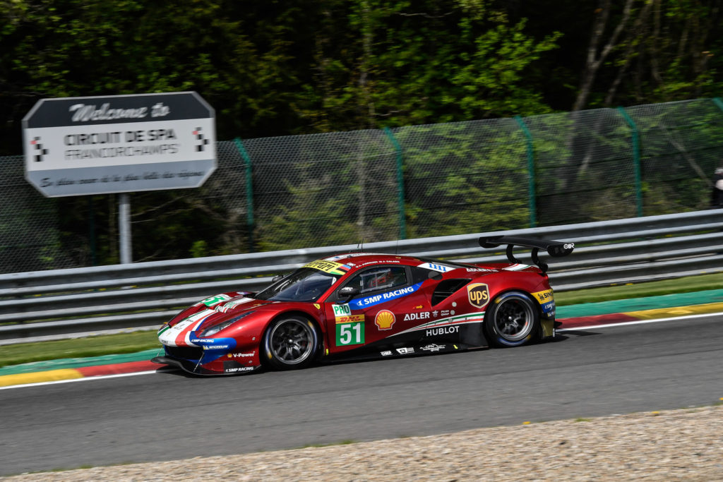 WEC | Cinque Ferrari in pista a Spa-Francorchamps per la Super Season