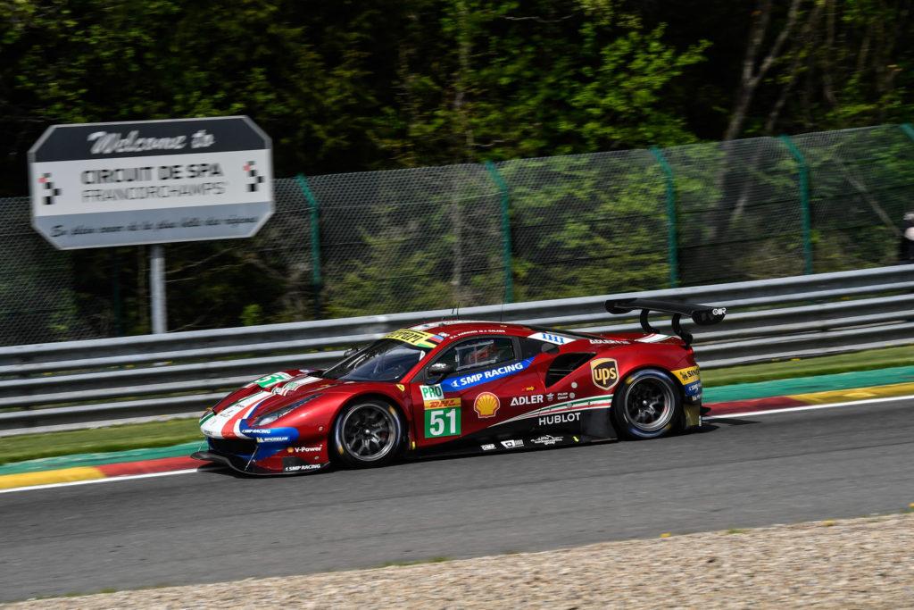 WEC | Cinque Ferrari in pista a Spa-Francorchamps per la Super Season