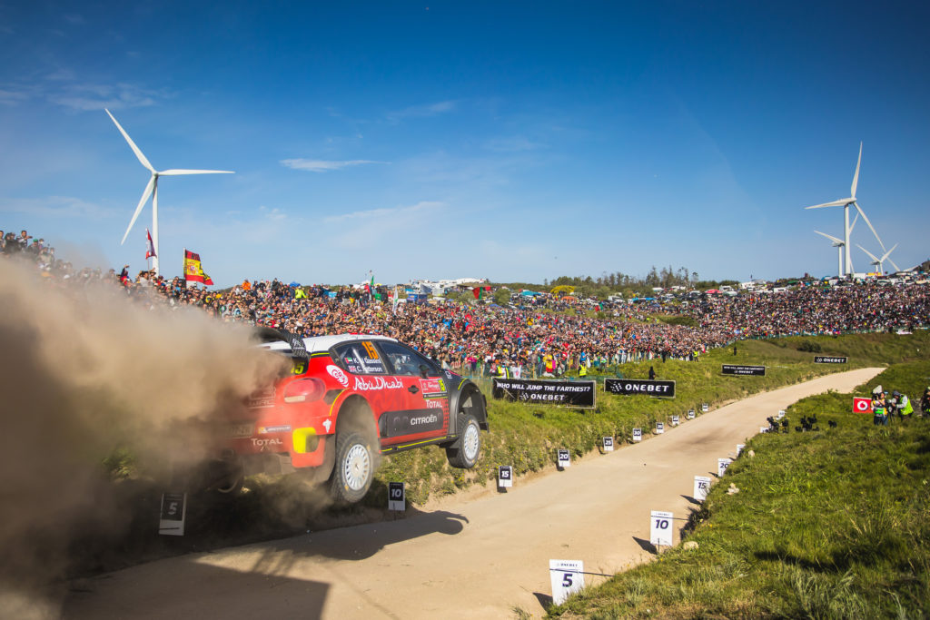 WRC | Citroen e Meeke all'assalto del Rally del Portogallo