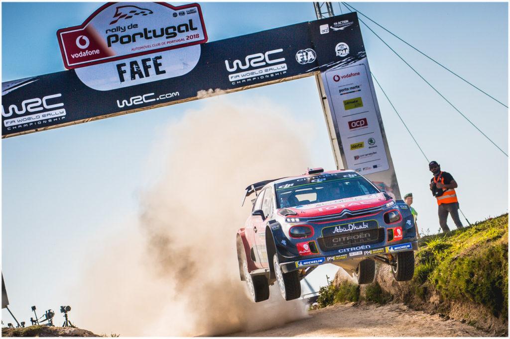 WRC | Bicchiere mezzo pieno per Citroen in Portogallo