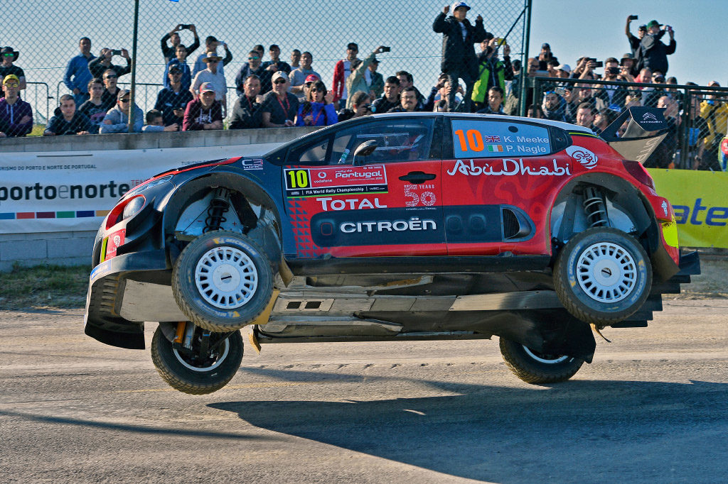 WRC | Citroen pronta all'attacco, Meeke quarto nello shakedown [VIDEO]