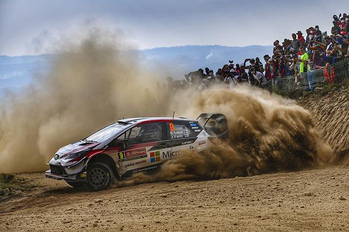 WRC | Un ultimo giorno di grandi prestazioni non premia la Toyota in Portogallo