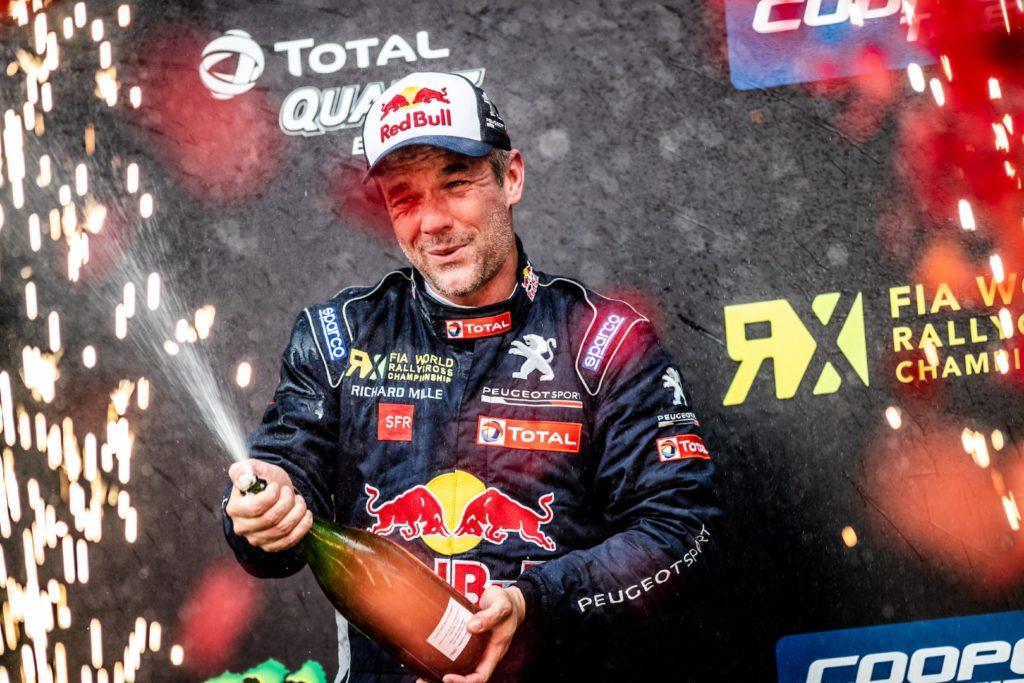 Rallycross | Quarto podio consecutivo per Peugeot a Silverstone con Loeb