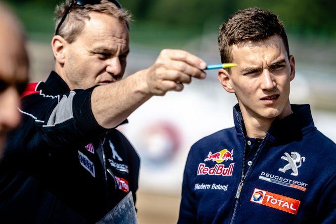 Rallycross | Ecco come Peugeot ha allestito la 208 WRX per gestire i rischi di Mettet [VIDEO]