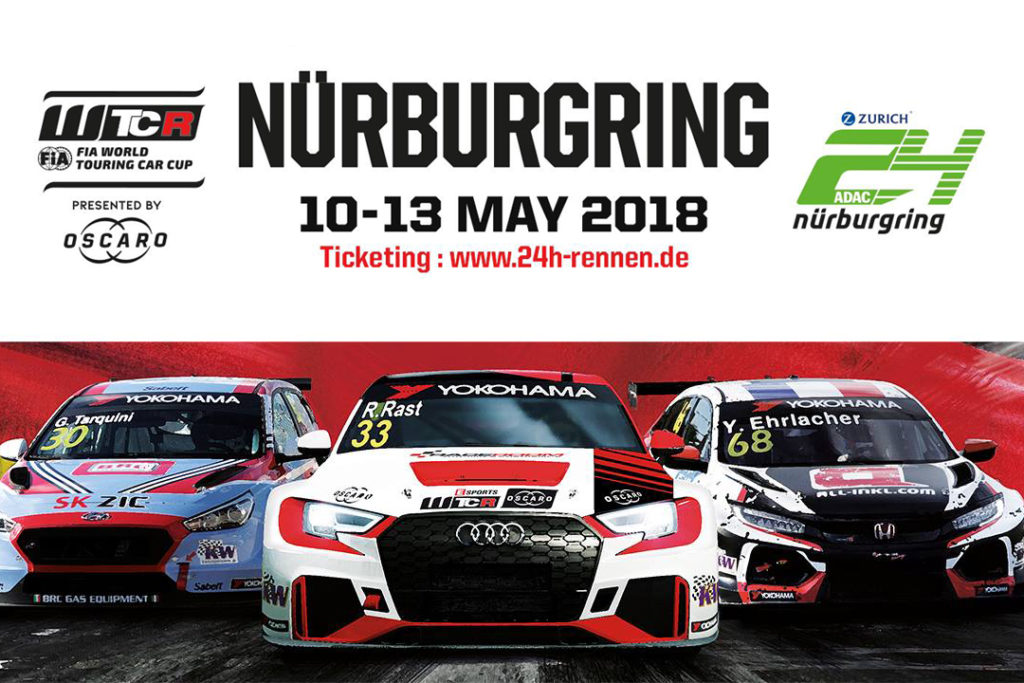 WTCR | Tutto pronto per il week-end del Nurburgring Nordschleife