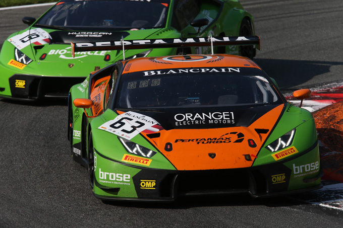Blancpain | Brands Hatch: Orange1 Racing limita i danni nel fine settimana dominato da Audi