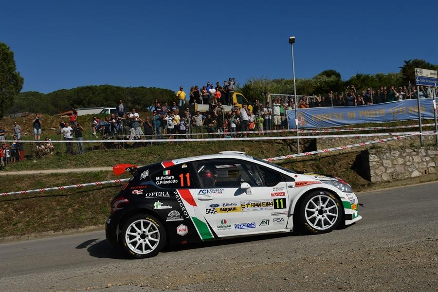 CIR | Un ottimo arrivo in top 10 per Pollara e Princiotto al Rallye d'Elba
