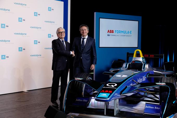 Formula E | Voestalpine main sponsor delle tappe europee a partire dalla quinta stagione [VIDEO]