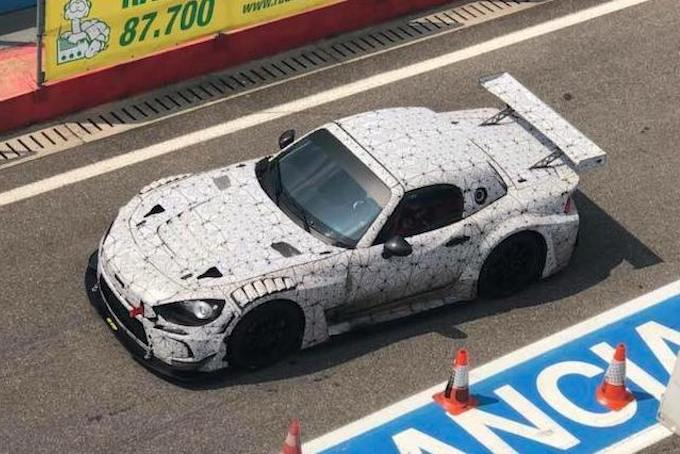 Abarth 124 GT4 - Test Prototipo