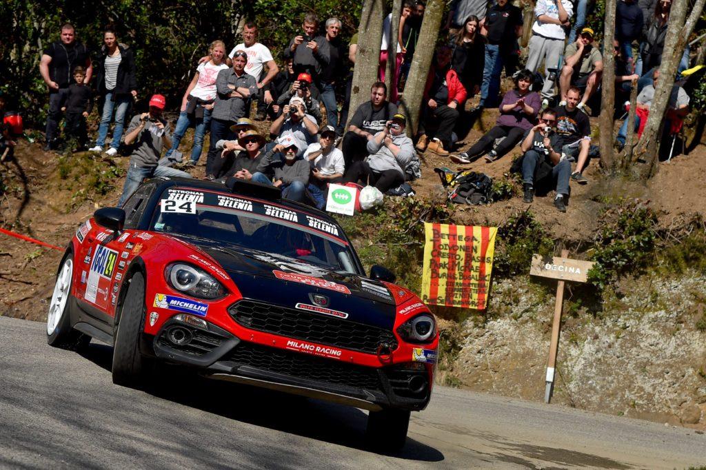 Abarth | Altro weekend pieno d'impegni per lo Scorpione, tra rally e F4