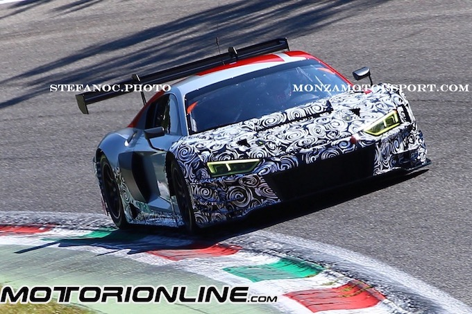 Audi Sport R8 LMS - Test Monza 2018