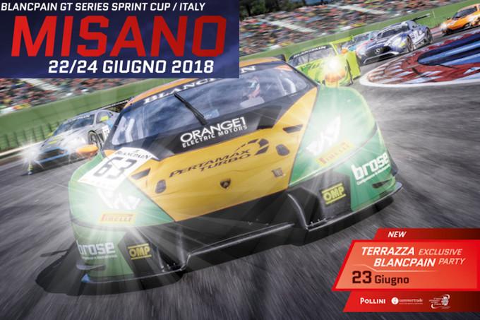 Blancpain | Misano Sprint Cup: Programma e Orari del weekend