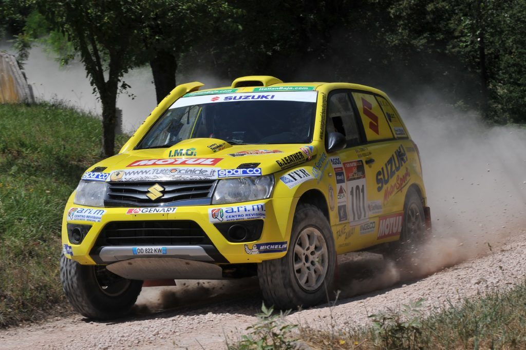 CI Cross Country | Suzuki si presenta all'Italian Baja da favorita, Codecà pronto al tris