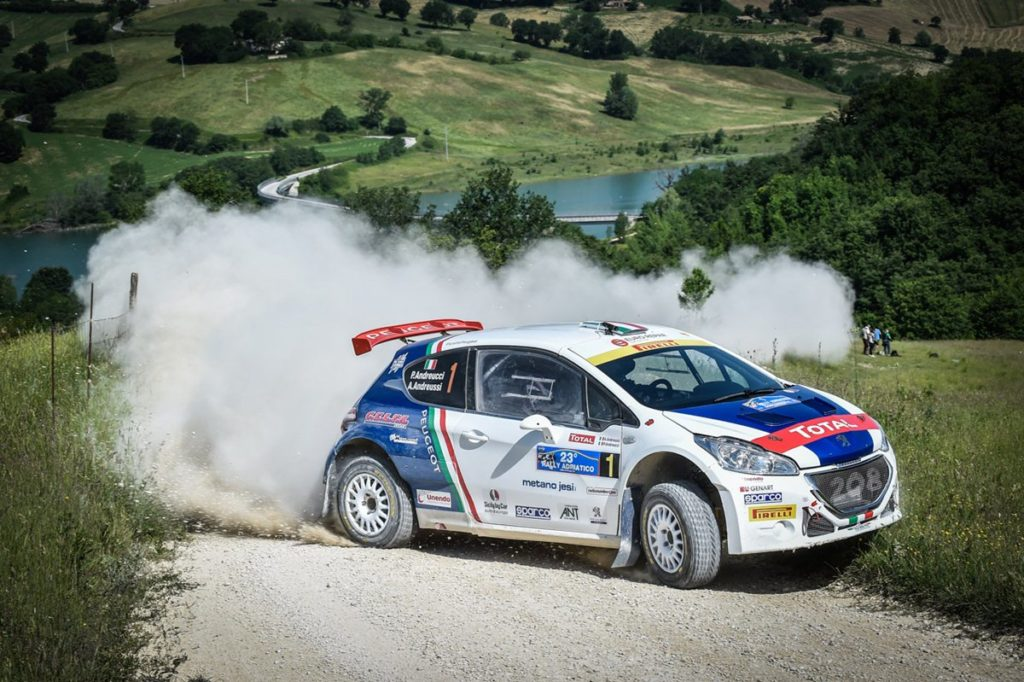 CIR | Andreucci e Peugeot presentano il Rally San Marino [VIDEO]