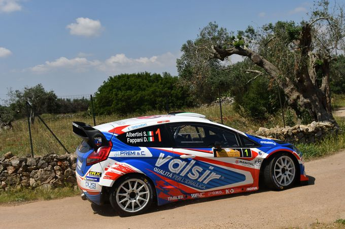 CIWRC | Albertini imprendibile al Rally del Salento. Podio tutto Ford WRC
