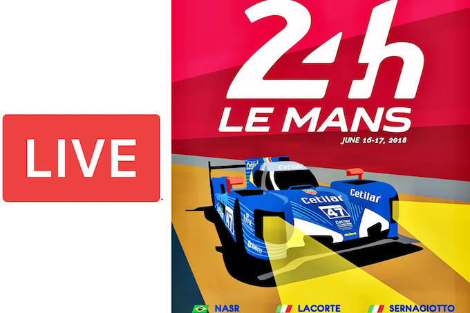 Segui in Diretta la 24 Ore di Le Mans con Cetilar Villorba Corse [LIVE]