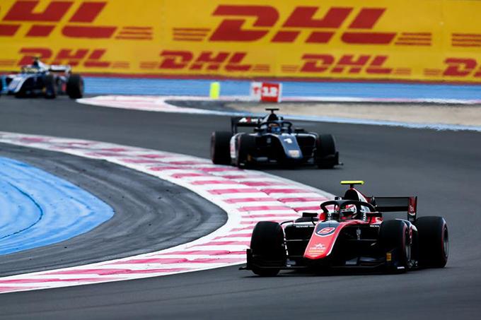 FIA F2 | Russell e De Vries dominatori a Le Castellet, Norris limita i danni