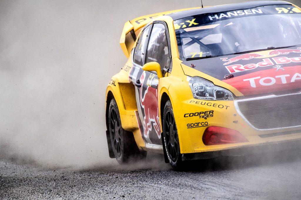 Rallycross | Peugeot ai piedi del podio con Kevin Hansen in Norvegia [VIDEO]