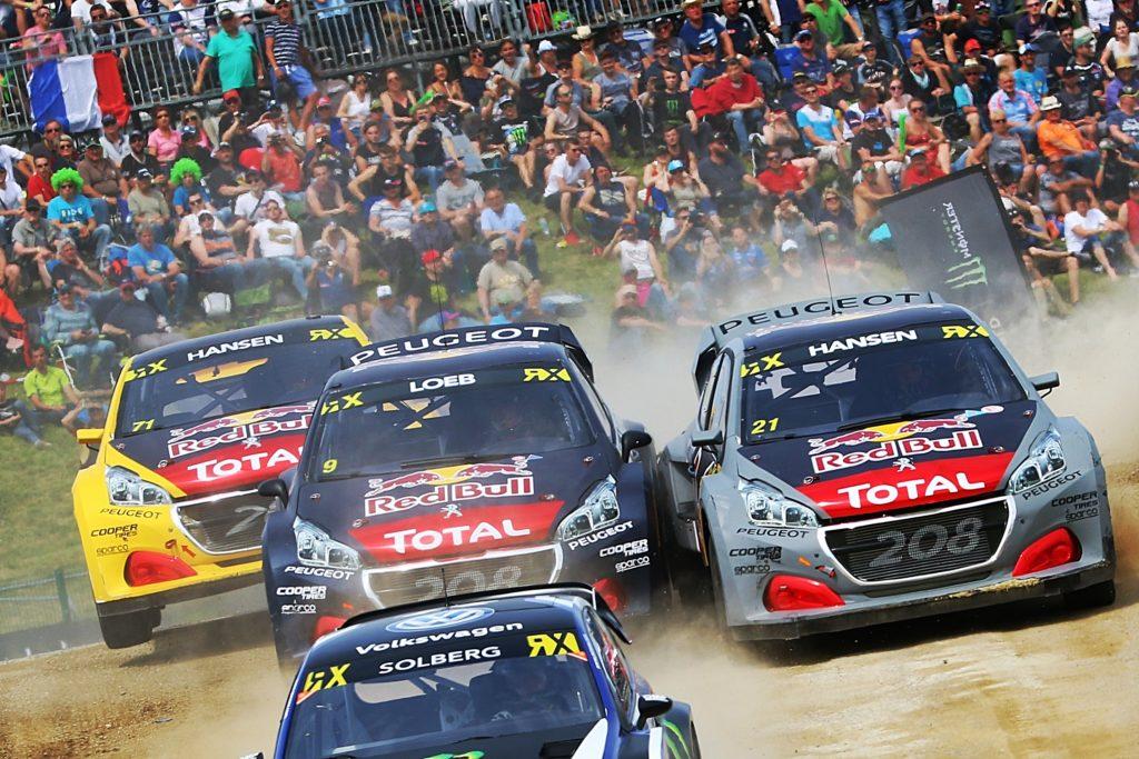 Rallycross   Si aprono le porte dell'inferno di Hell per Peugeot
