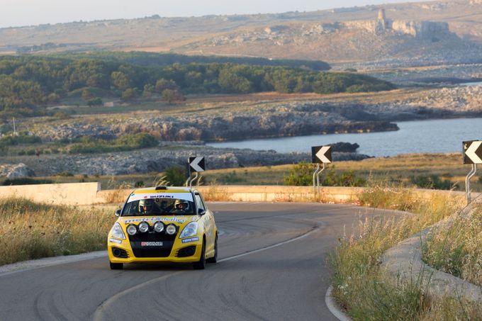 Suzuki Rally Cup | Bis di Corrado Peloso al Rally del Salento