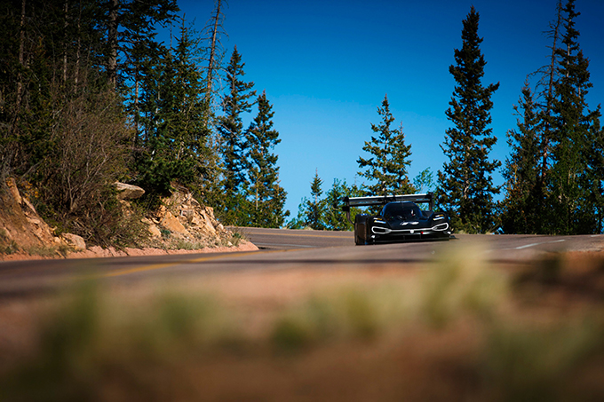 Primo test completato per Dumas e la Volkswagen I.D. R Pikes Peak negli Stati Uniti