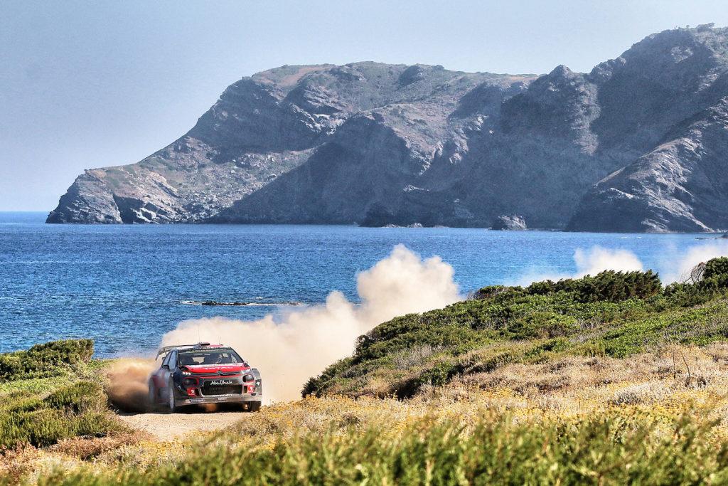 WRC   Speranze e sogni di Citroen indirizzati verso il Rally di Sardegna