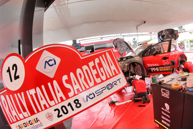 WRC | Citroen Racing pronta al Rally Italia Sardegna con la C3 WRC