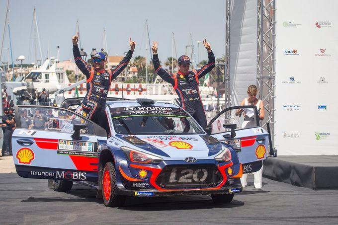 WRC | Il trionfo Hyundai e altre dichiarazioni dal Rally Italia Sardegna [VIDEO]
