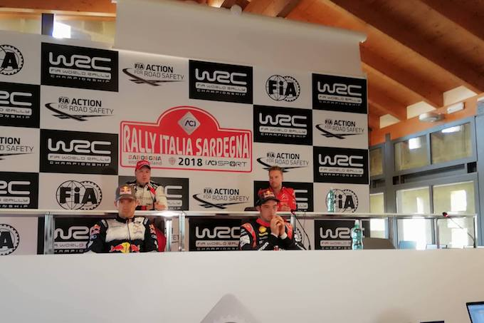 WRC | Rally Italia Sardegna, conferenza stampa e partenza [VIDEO LIVE]