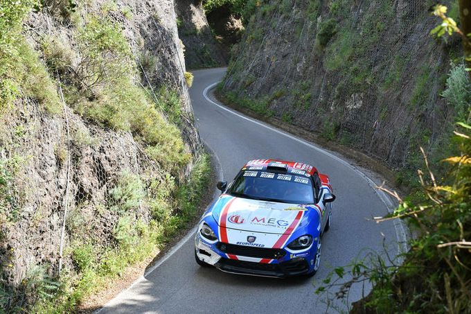 Abarth 124 Rally, successi in Slovenia e al San Marino Rally nella classe R-GT
