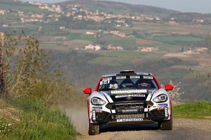 Le Abarth 124 Rally tornano in azione nel Campionato Francese