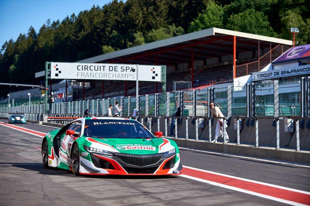 Blancpain | Patrese e Depailler presenti alla 24 Ore di Spa con Honda