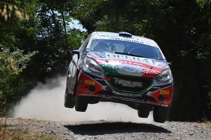 CIR | La battaglia tra Trevisani e Coppe nel Peugeot Competition Top 208 al San Marino Rally
