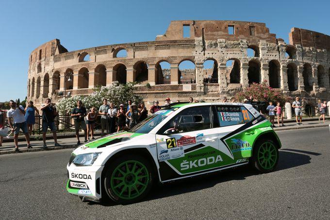CIR | La resa di Scandola e D'Amore al Rally di Roma Capitale