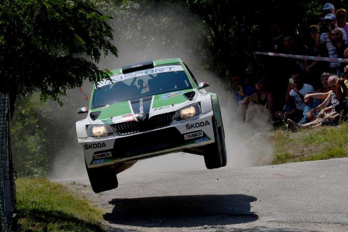 CIR | La rimonta Skoda con Umberto Scandola al San Marino Rally