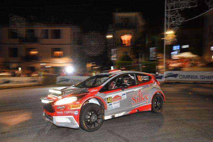 CIR | Le fatiche degli equipaggi Ford Racing Italia al Rally di Roma Capitale [VIDEO]