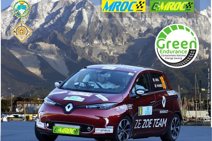 Green Endurance | Questo weekend la prima E-MROC