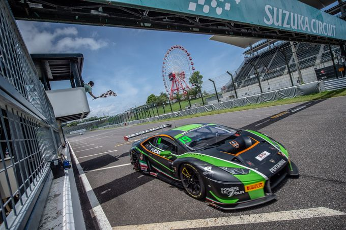 Weekend di successi per Lamborghini Huracan nel Blancpain GT Asia e nell'endurance americano